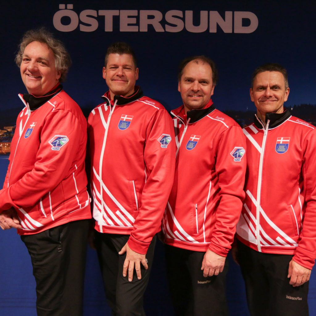 Christian Thune, Niels Siggaard-Andersen, Mikael Qvist og Ulrik Schmidt