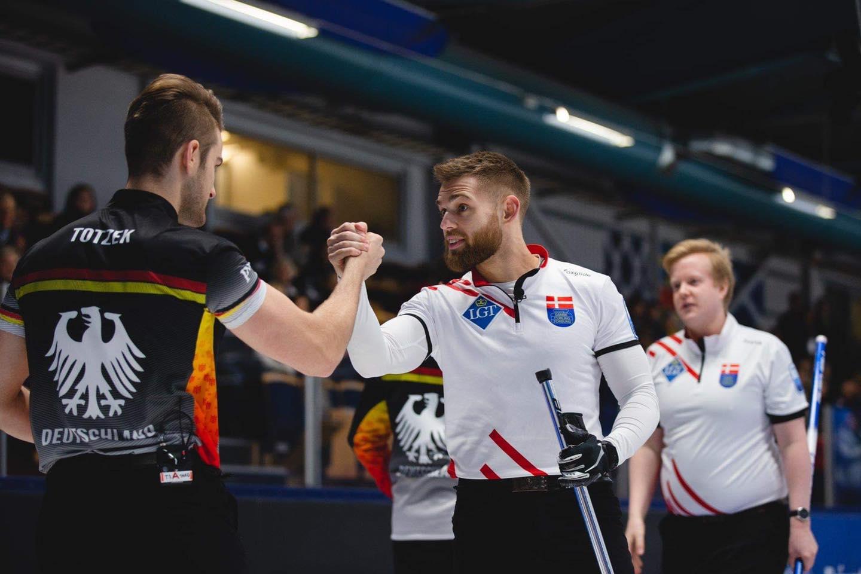 Optimistisk Team Krause efter Baden Masters