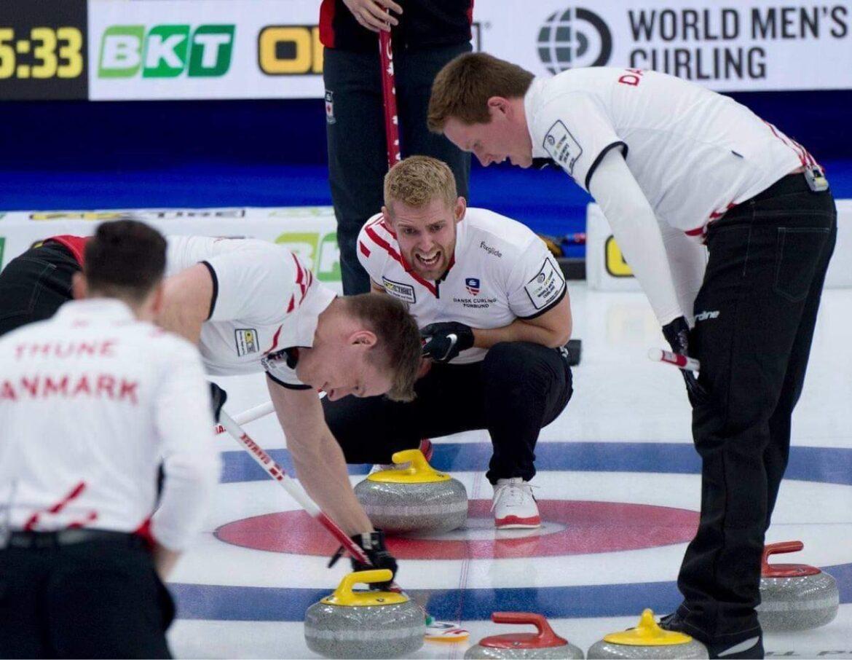 Dansk curlinglandshold fanget i corona-isolation
